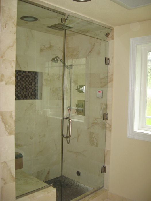 Estate Steam With Operable Transom Bn Cl 2 Shower Doors