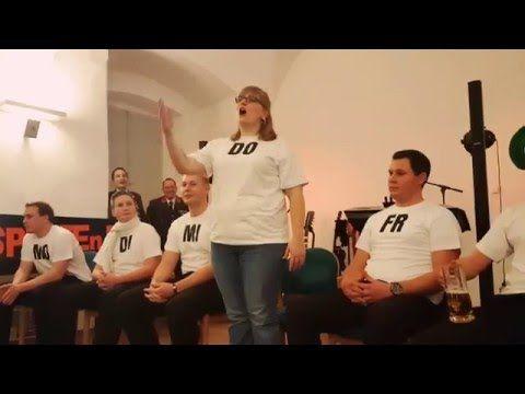 Mitternachtseinlage Ff Probstdorf Und Ff Schonau T Youtube