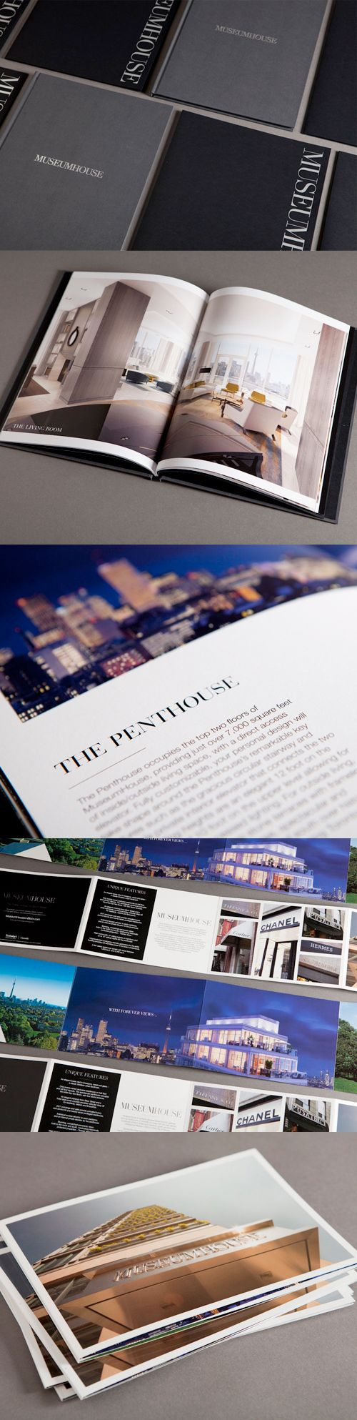 Newly pinned: The beautiful brochure we designed for MuseumHouse.