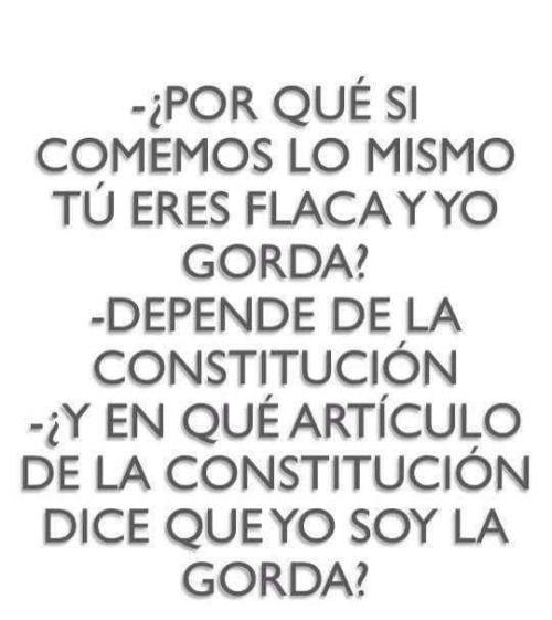Articulo de la Constitucion