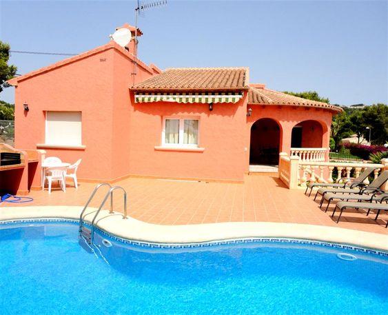 Location vacances Denia - Villa - 6 personnes - 4 pièces - 3