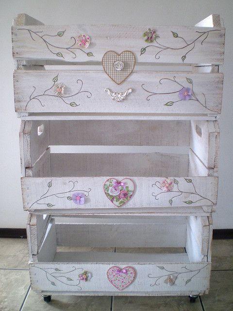 Caixa de madeira, linda!: