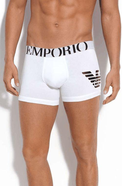 Emporio Armani 'Eagle' Boxer Briefs on Wantering