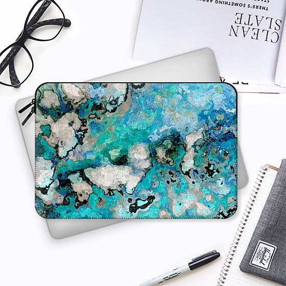 Marble Art V7 Macbook Case - MacBook Tasche