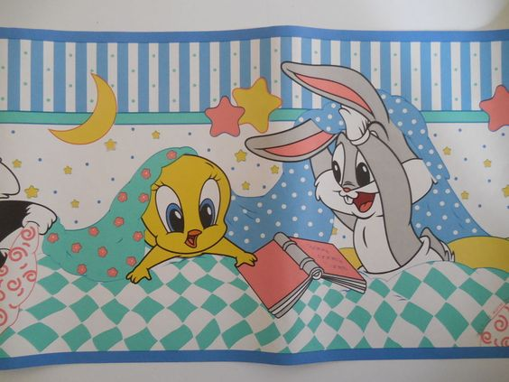 Baby looney tunes wallpaper border - photo#6