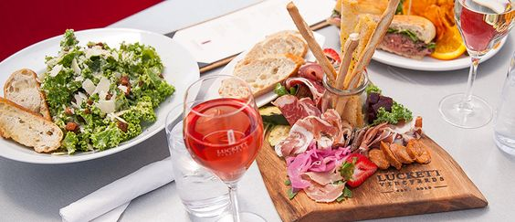 Luckett Wines are perfect for pairing and sampling with a variety of fine food.