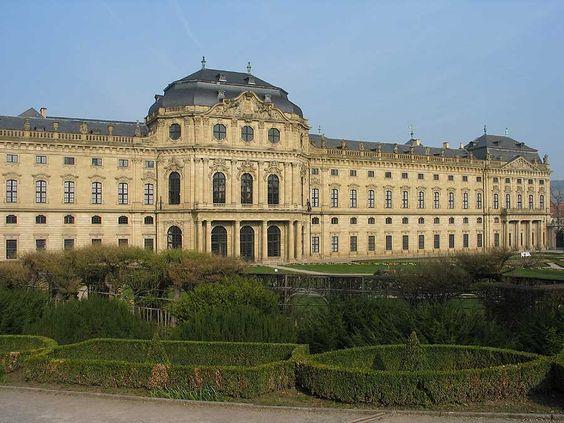 Residenza di Würzburg in Baviera