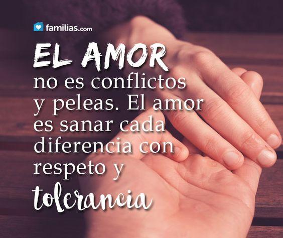 El amor es respeto