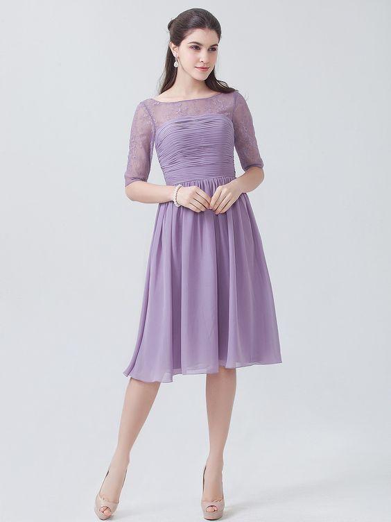 lavender color dress - photo #28
