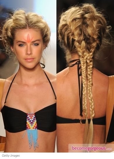 Strange 1000 Images About Braids On Pinterest Unique Braids Side Hairstyle Inspiration Daily Dogsangcom