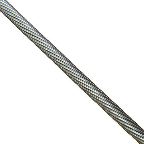 250 Feet 1 8 1x19 Stainless Steel Type 316 Wire Rope Cab Https Www Amazon Com Dp B07dpwtcx9 Ref Stainless Steel Types Cable Railing Stainless Steel Cable