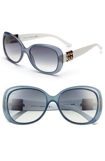 Óculos oval blue