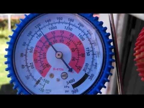 Presión Refrigerante R410a A 31 C Temperatura Ambiente Youtube Refrigeracion Y Aire Acondicionado Mantenimiento De Aire Acondicionado Aire Acondicionado