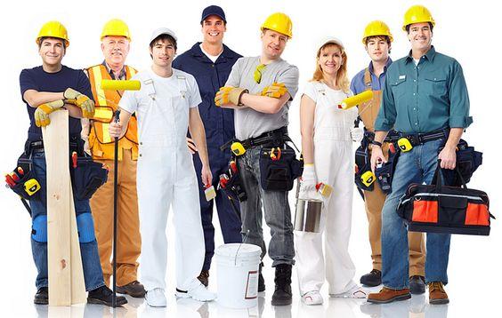 assortment of home improvement contractors