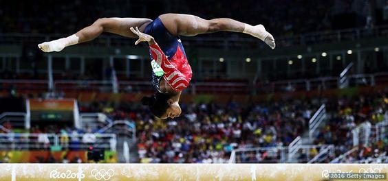 The Best Photos From Rio 2016: Aug. 7 Gabby Douglas, Gymnastics