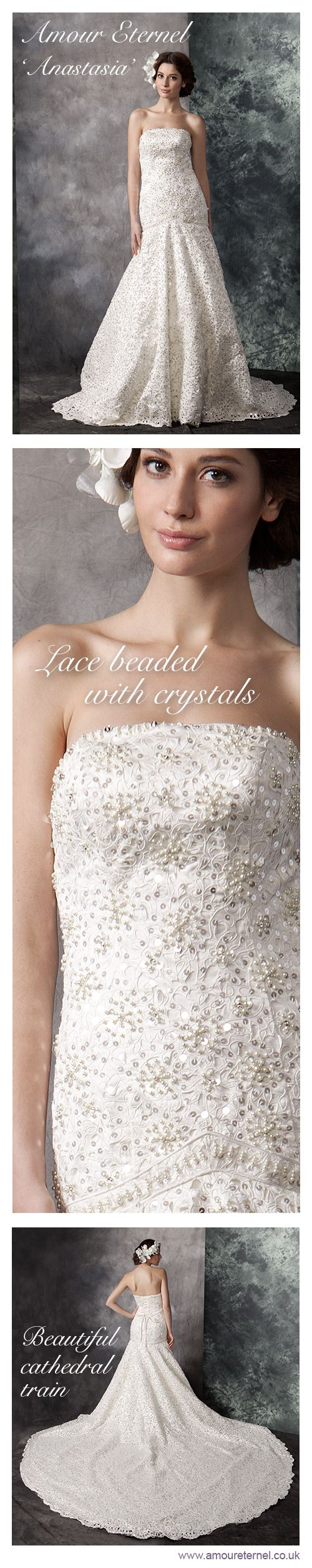 Wedding Dresses with WOW factor | Amour Eternel | www.amoureternel.co.uk