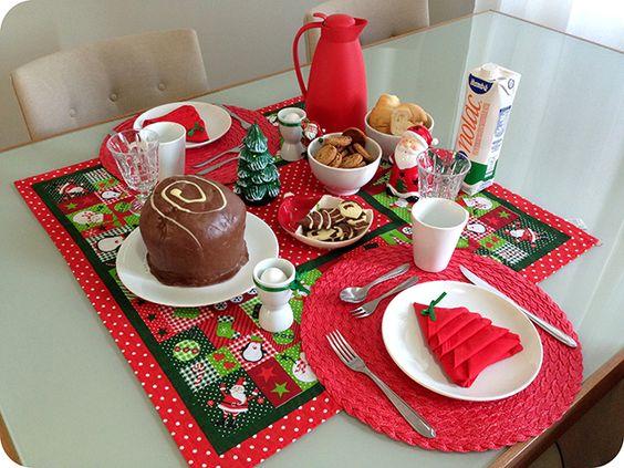 Montando a Mesa: Café da Manhã de Natal