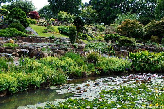 Wisley Garden: Steintreppen