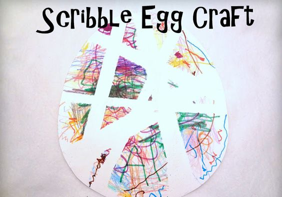 Little Family Fun: Scribble Egg