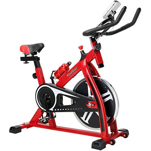 Cheap Finether Exercise Bike Indoor Chain Driven Cycling Bike Spinning Bike Spin Bike Stationary Bicycle With 17 6 Lb 8 Kg Flywheel Pulse Water Bottle And Tr Biking Workout Mini Exercise Bike Indoor