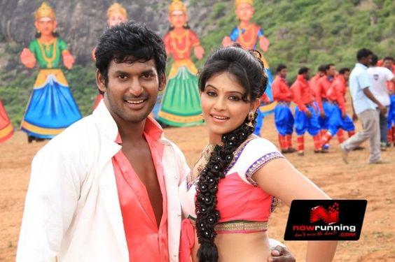 Vishal & Anjali in Mada Gaja Raja