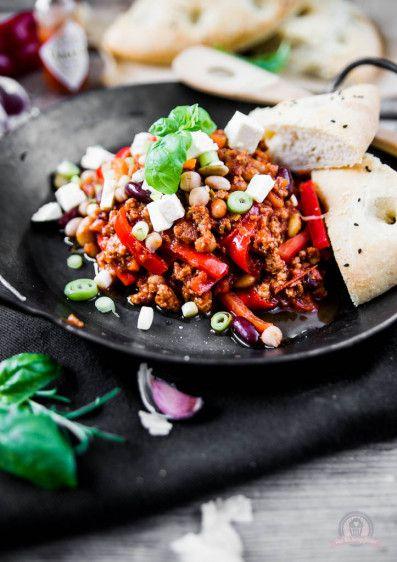 Kichererbsen Chili con Carne - Das Küchengeflüster