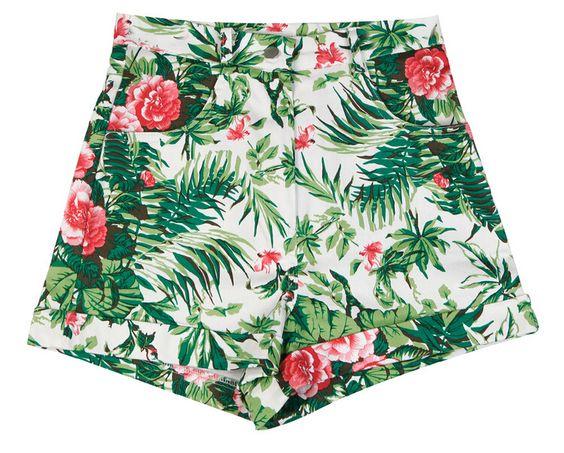 #summer #floral #shorts