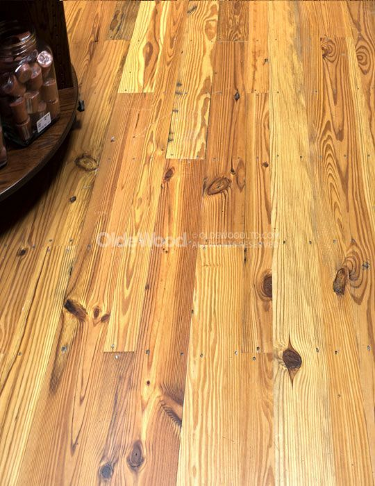 Reclaimed Wood Flooring In Stock Antique Heart Pine Common 5 000 Sf Starting At 8 Reclaimed Hardwood Flooring Hardwood Plank Flooring Wood Flooring Options
