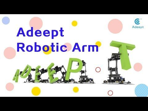 Developed For Robot Lovers The 5 Axis Robotic Arm Kit Is Designed