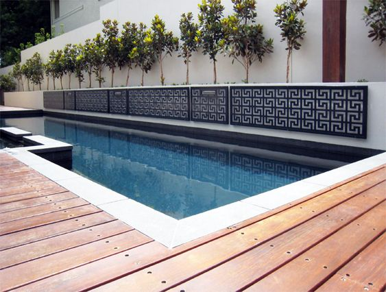 Pool Wall Cladding : Wall cladding panels decorative