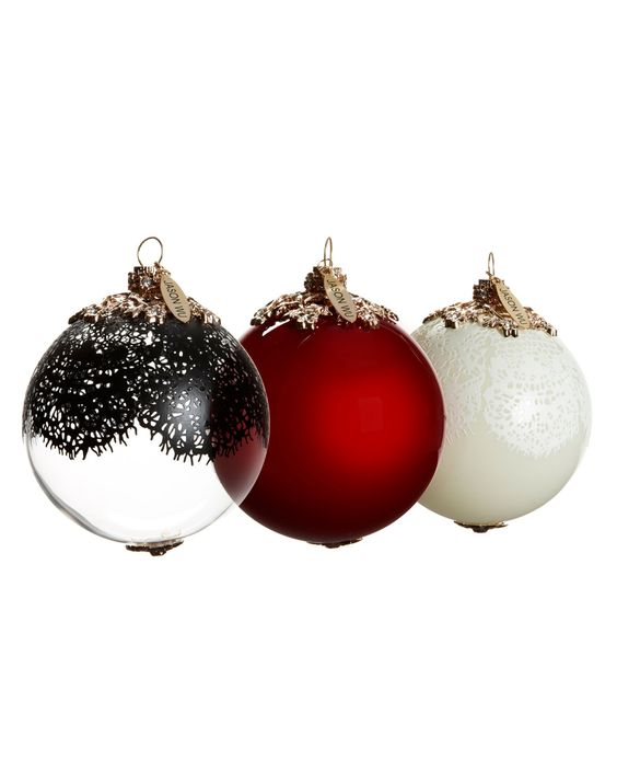 Jason Wu Christmas Ornaments I got two sets of these on clearance ...