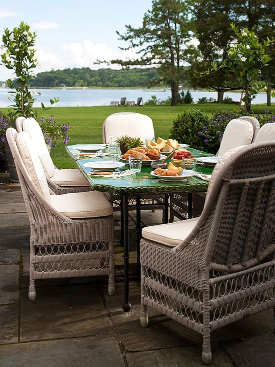 Wicker Patio Furniture Red Cushions: Patio Furniture Buying Guide