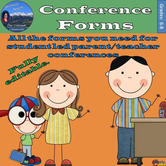 Conference Forms has seven (7) different forms you might need to run your own student-led parent/teacher conferences. All are fully editable and can be made to fit your school and subjects.