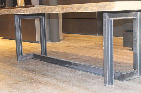 ipn table design industriel ipn pinterest design et tables. Black Bedroom Furniture Sets. Home Design Ideas
