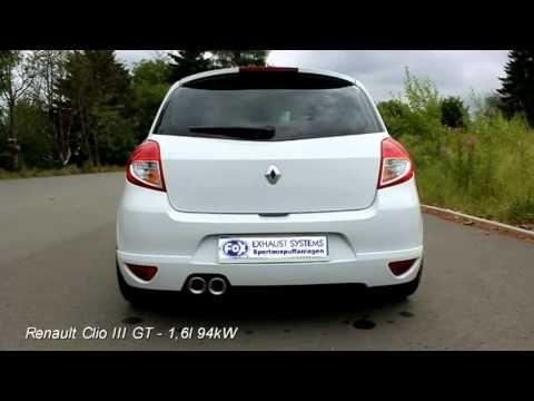 Fox Sportauspuff Renault Clio Iii Gt Re072022 152 Re072022