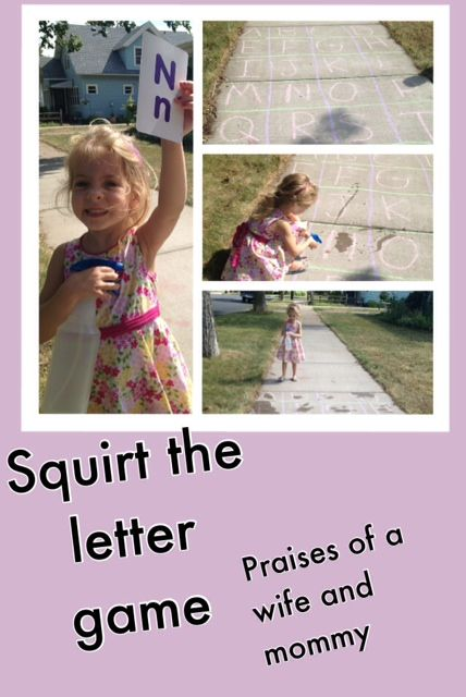 Praises Of A Wife And Mommy Squirt The Letter Game- Letter Recognition And Sounds -7749