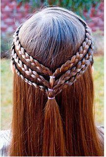 Peinados De Trenzas Ninas Faciles