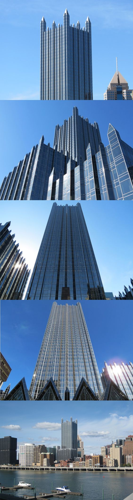 PPG Place, Pittsburgh, Philip Johnson & John Burgee, 1981-84
