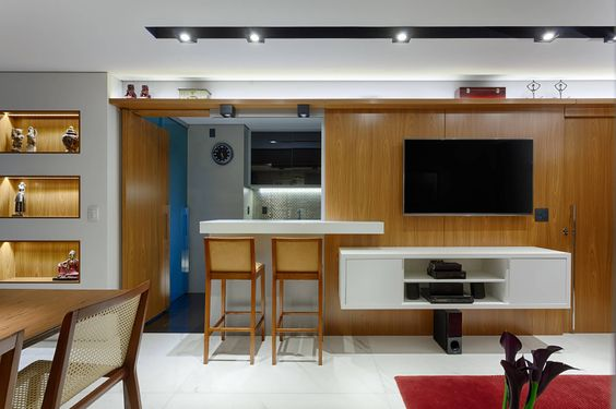 Reforma otimiza apartamento de 75 m² através de soluções con…