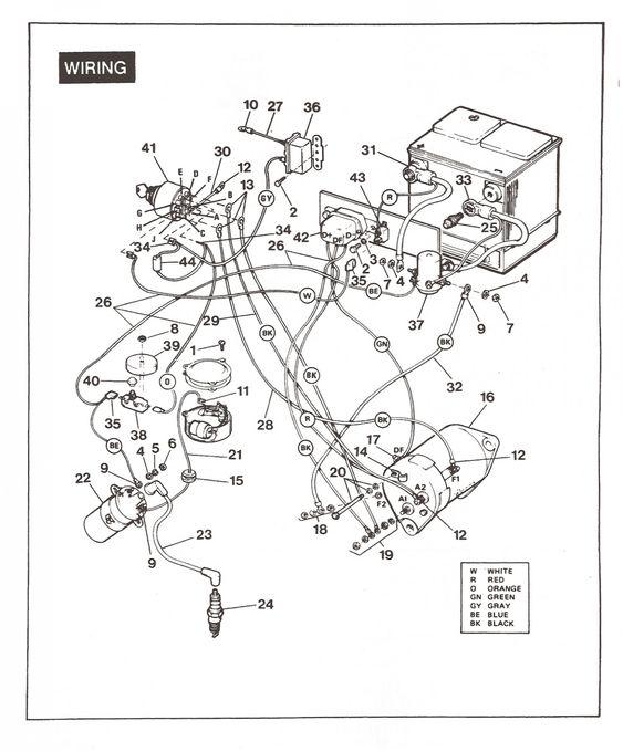 Y8zr Engine Diagram Xl Club Golf