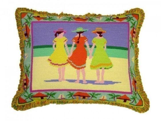 PWMS-759 Three Girls on the Beach 16 x 20