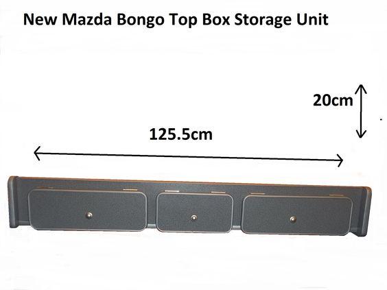 Mazda Bongo Topbox Storage Unit Ideas Pinterest