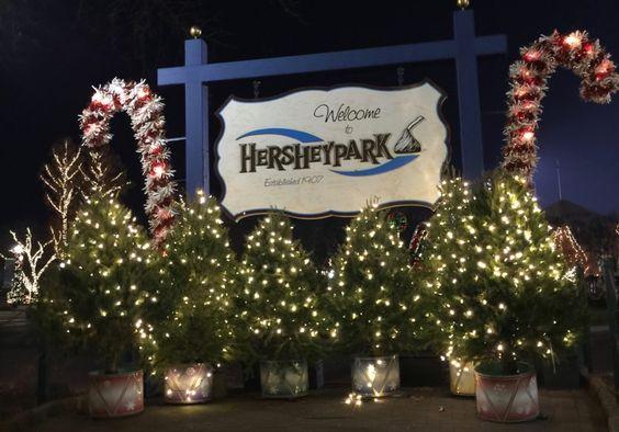 Hershey Park, Christmas, Candylane, Christmas Candylane, Hershey