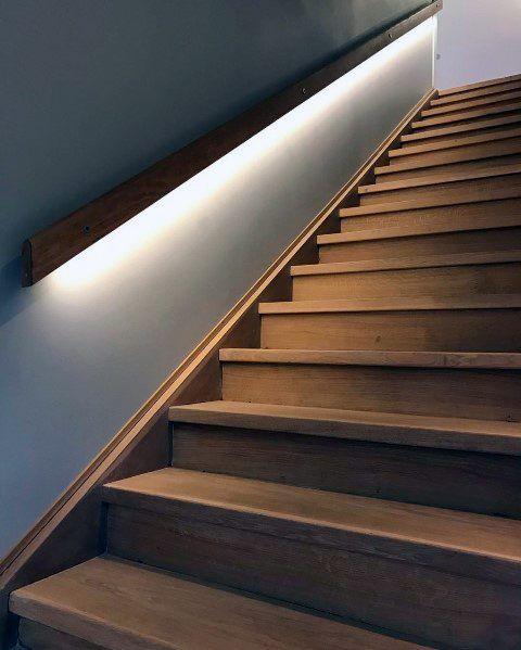 Top 60 Best Staircase Lighting Ideas Illuminated Steps Stairway Lighting Staircase Lighting Ideas Staircase Design