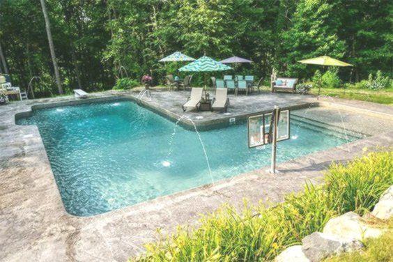L-Form Inground Pool Kits   Diy swimming pool, Small ...