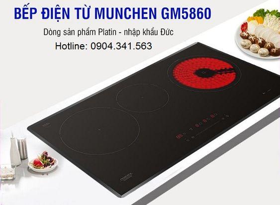Mua bếp điện từ Munchen GM 5860 ở đâu uy tín giá rẻ