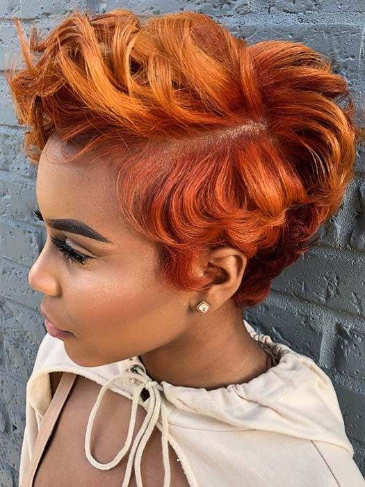 50 Short Hairstyles For Black Women Short Red Hair Short Wigs