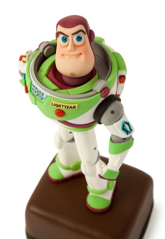 Buzz Lightyear Edible Cake Topper