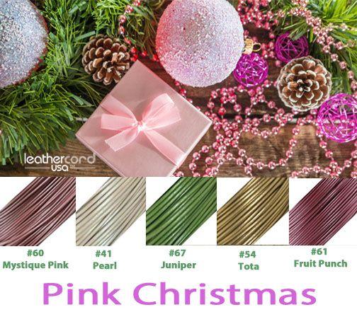 #leathercordusa #pinkchristmas #christmasseason #christmasholiday #christmasgifts