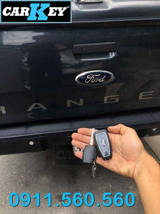Làm chìa khóa remote Ford Ranger